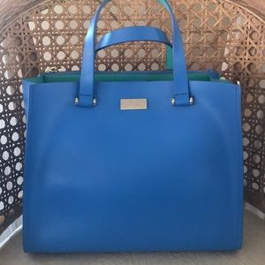 KATE SPADE Satchel With Long Strap/Used Once!!